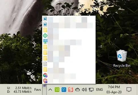 Taskbar-widgets-toolbars-quick-links-toobar