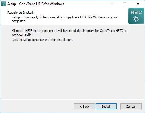 install copytrans
