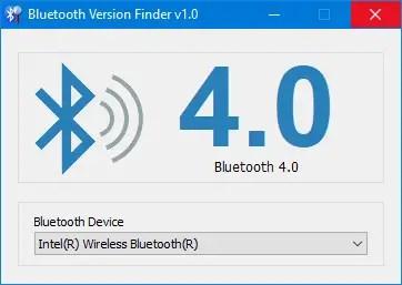 Windows 10 bluetooth version