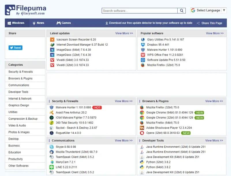 Best-safe-sites-to-download-windows-software-filepuma