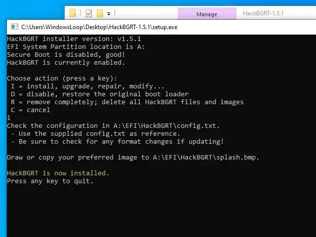 Change-boot-logo-windows-installed