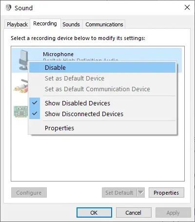 Disable-windows-10-microphone-sound-control-panel-disable-option