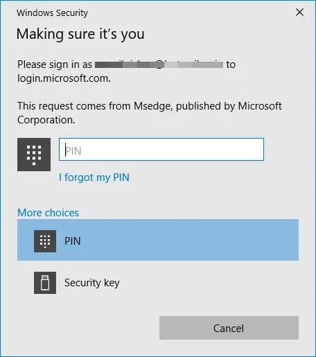 Windows 10 find my device - login
