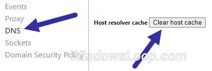 Clear-chrome-dns-cache-230720