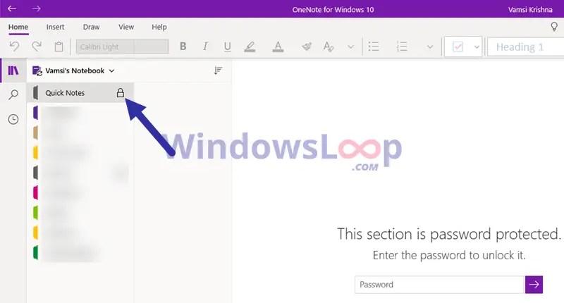 Onenote-locked-with-password-020820