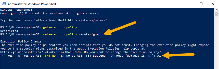 Set-execution-policy-to-enable-powershell-scripts-010920