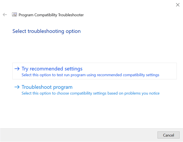 Try-recommended-settings-in-program-comptibility-troubleshooter-220920