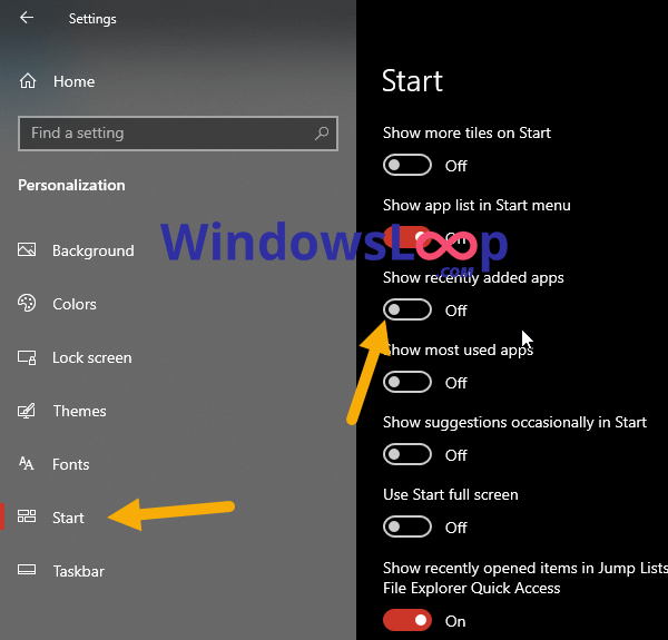 Remove-recently-added-apps-in-start-menu-171020