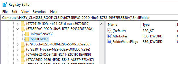 go to the registry key you want to take ownership of