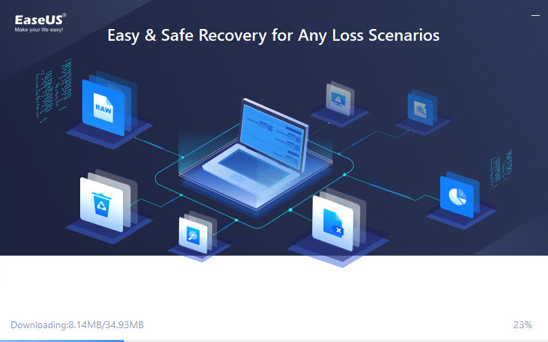 install easeus data recovery