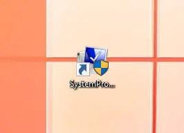 system restore desktop shortcut