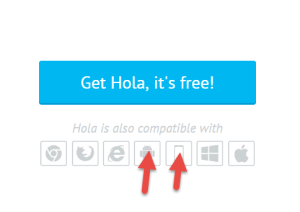 select-hola-for-mobile