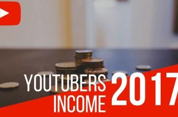 YouTubers Income