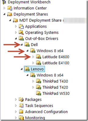 Managing drivers in MDT 2012 using Driver Groups | Musings of an IT Pro