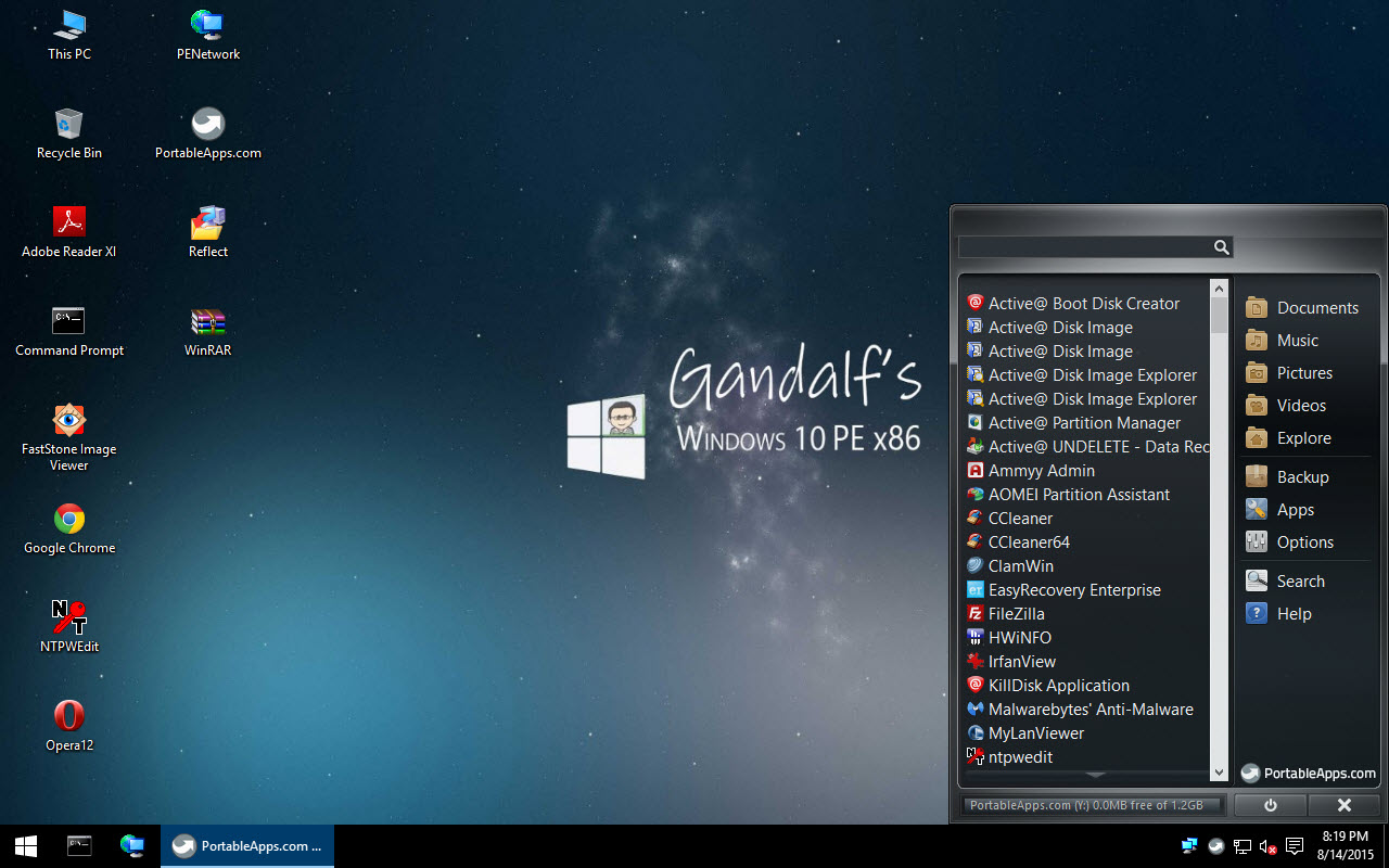 Windows 10 x86 PE with updateable usb apps | Musings of an IT Pro