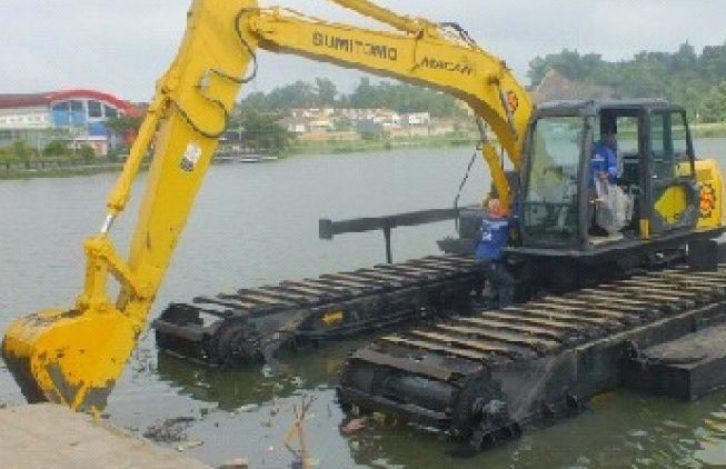 potensi eroai yang mencemari sungai mereka