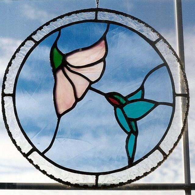 stainedglassjustasiphummingbird2000