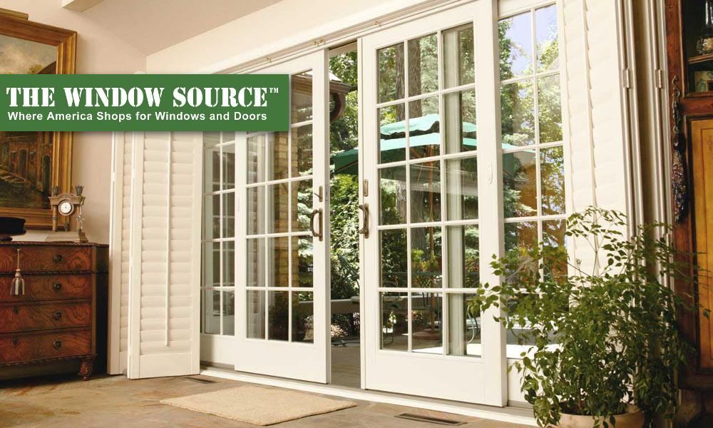 sliding patio doors the window source