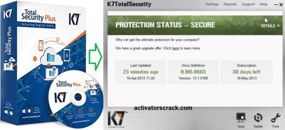 K7 Total Security 2020 Cracked Full Activation Code