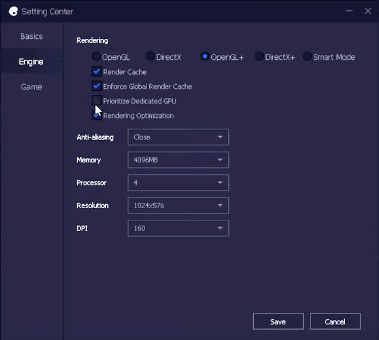 TGB PUBG Engine Settings for best performance