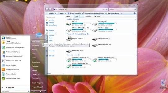 Aerosnap Windows 7 Theme Visual Style