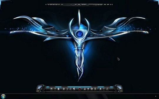 Download Free Alien Windows 7 Theme 3rd Party 1