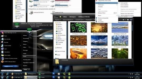 Dark 7 mix Windows 7 Theme 3rd Party