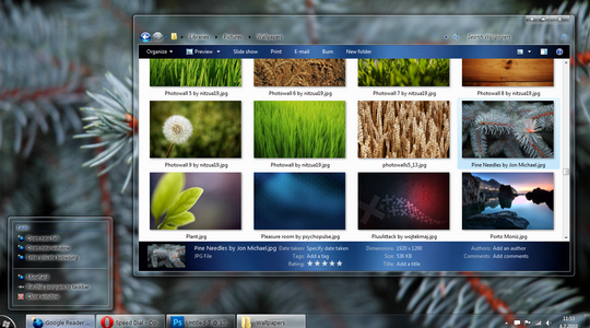 Ezlo Windows 7 Theme 3rd Party