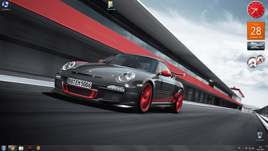 Download Free Porsche Windows 7 Theme