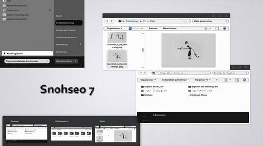 Snohseo Windows 7 Theme 3rd Party