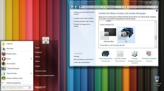 X2 Alpha Windows 7 Theme 3rd Party