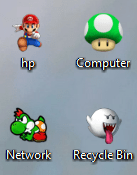 Super Mario Galaxy 2 Windows 7 Theme With Cursors, Icons & Sounds (5)