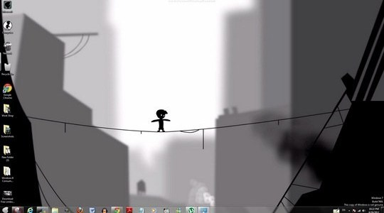 Limbo Windows Theme With Icons Sounds & Startorb