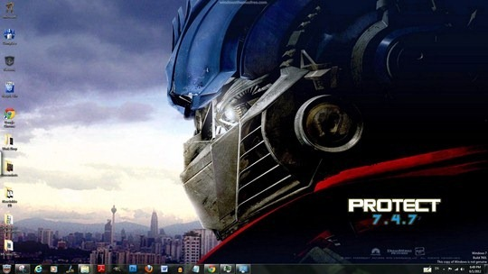 Download Free Transformers Windows 7 Theme With Icons Sounds & Cursors