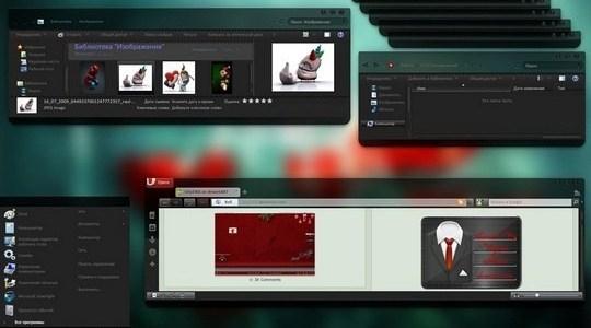 Black Diamond Windows 7 Visual Style
