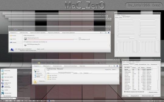 Download Free MaC ZerO Windows 7 Visual Style