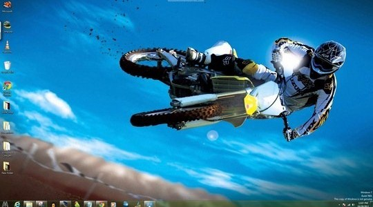 Moto Windows Theme With Icons Cursors & Sounds