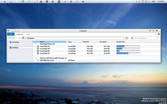 Download Free iMac Windows 8 RTM Visual Style