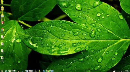 Green World Windows Theme With Icons Cursors & Sounds