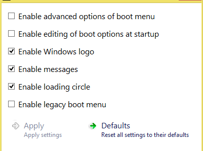 Boot UI Tuner App for Windows 8