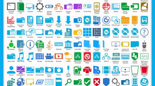 Metro Windows 8 Icon Pack
