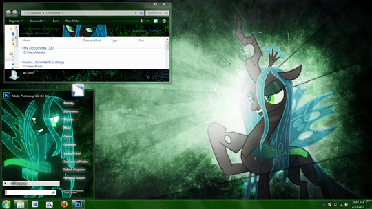 Download Free Queen Chrysalis Windows 7 Visual Style