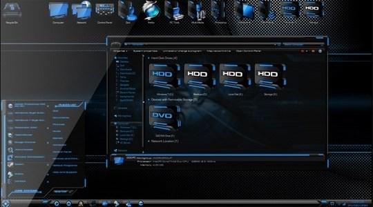 HUD Evo 8 Windows 8 Visual Style