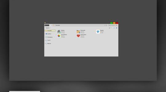 Corp Windows 8.1 Visual Style