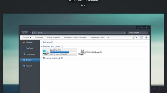 Ceti Windows 8.1 Visual Style