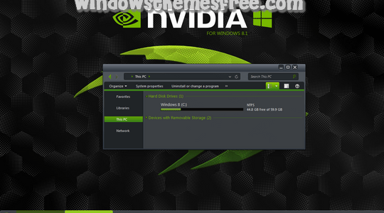 nVidia Windows 8.1 Visual Style