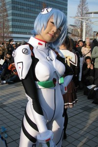 Evangelion cosplayer