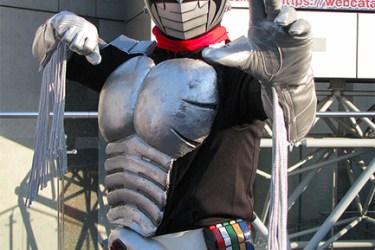 Kamen Rider cosplayer