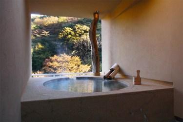 Hakone onsen bath