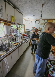 Japanese home stay and meal